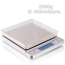SAGA Digital Scale 2000g x 0.1g Jewelry Gold Silver Coin Gram Pocket Size Herb
