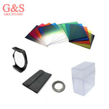 55mm ring Adapter + 10pcs square color filter + Filter box for Cokin P series