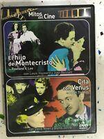 EL HIJO DE MONTECRISTO + CITA CON VENUS DVD ROWLAND V. LEE DAVID NIVEN GLYNIS AM