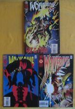 Wolverine comic books  - 88/1994,Vol.1 No.1, 89 / 1995