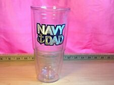 "Tervis Tumbler 16 ounce ""Navy Dad"""