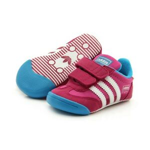 Adidas Learn 2 Walk Dragon CF I Babies Soft Trainers size 8.5k