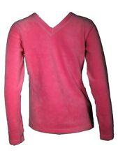 Vêtements rose à manches longues en polyester pour fille de 2 à 16 ans