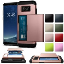 Wallet Heavy Duty Case Cover For Samsung Galaxy S9 S8 Plus S7 EDGE S6 NOTE 8 5 4
