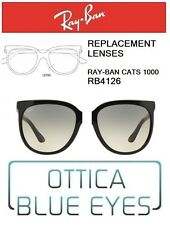 Lenti di Ricambio RAYBAN CATS1000 RB4126 601/32 Replacement Lenses Ray Ban GREY
