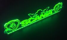 12V Green LED Cabin Interior Light Plate for Scania Griffins & Crown Neon Sign