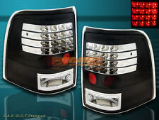 2002-2005 EXPLORER XLS/XLT/NBX/EDDIE/LIMITED/POSTAL LED TAIL LIGHTS BLACK PAIR