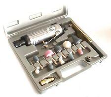 15 Piece 1/4 Inch Air Die Grinder Kit Air Tools Polishing Set + Case