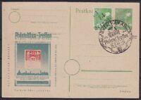 SBZ BZH 169 II Dresden mit SST 1948 auf toller Ganzsache, Altsignatur
