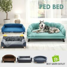 Petscene Pet Dog Bed Cat Sofa Couch Cushion Puppy Lounge Multi Size