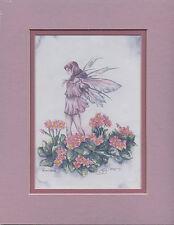 Amy Brown - Primroses - Matted Mini Print - Very Rare
