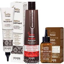 Energy Kit Seliar Therapy ® Echos Line Detox Treatment + Shampoo + Active Lotion