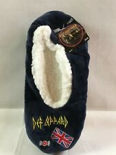 New Def Leppard Hardrock Band Advertising Slippers Sz.5-7