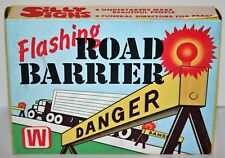 Vintage Rare Winslow Template Co USA Funeral Flashing Road Barrier Battery Train