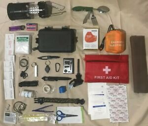 Emergency Survival Kit Essential Bug out Bag Zombie Hurricane - #5
