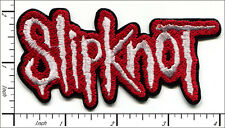 20 Pcs Embroidered Iron on patches Slipknot Music Band 10x5cm AP056dB