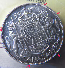 Canada 50 cents 1950 ICCS MS-63 No Design Trends $350.00 + Zoell: 452g + more