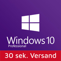 Microsoft Windows 10 Professional MS Win 10 Pro 32/64 Bit SOFORT per EMAIL