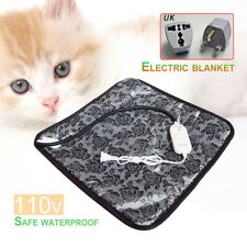 Pet Mat Pad Dog Cat Bed Heated Heat Electric Blanket Warm Puppy Heating Winter