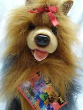 "Animal Majesty Dog Terrier 15"" My Favorite Pet Realistic Reddish Long Hair wTags"