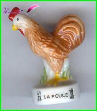 """Feve Animaux de la Ferme Edition Atlas """" La Poule """" Hen henne #B20"""
