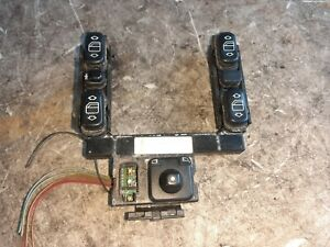 98-02 Mercedes E320 W210 Center Master Window, Trunk & Mirror Switches As-Is