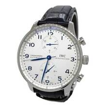 IWC Portuguese Chronograph Stainless IW3714-46 Steel White
