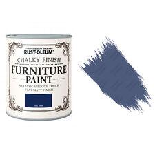 Rust-Oleum craie crayeux MEUBLE PEINTURE usé chic 125ml encre Bleu Mat