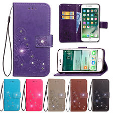 Bling Diamonds Leather Case Wallet Cover For Samsung Galaxy Phone/Note 10/S10/S9