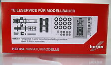 Herpa LKW 084352  Fahrgestell 4-achs Volvo Schwerlastzugmaschine Inhalt: 2 Stück