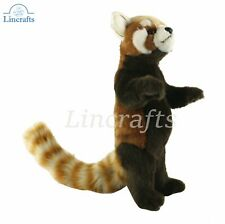 Hansa Standing Red Panda 7252 Plush Soft Toy Sold by Lincrafts Established 1993