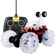 Christmas 360 Spin Fashion Stunt Car Music Remote Control Rechargeable LED Car