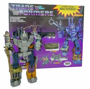 Transformers G1 Bruticus Multiforce reissue brand new NO BOX Gift