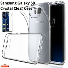 Samsung Galaxy S8 Crystal Case Front & Back Clear Case Detachable
