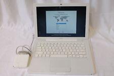 """Apple Macbook 13.3"""" Core 2 Duo P7450 @ 2.13GHZ 2GB RAM 160GB MC240LL/A - A1181"""