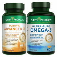 KIT - Dr. Cannell's Advanced D + Omega-3 Ultra-Pure Fish Oil by Purity Products