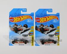 Rare Tampo ERROR 2018 Hot Wheels Indy 500 Oval GULF ZAMAC lot error with normal