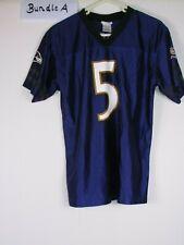 vtg 80s 90s baltimore ravens flacco team apparel NFL football shirt jersey