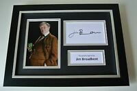 Jim Broadbent SIGNED A4 FRAMED Photo Mount Autograph Display Harry Potter & COA