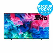 Philips 55 Inch 55PUS6503 Smart 4K Ultra HD HDR Freeview HD/Play WiFi LED TV
