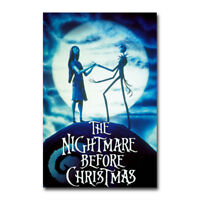 The Nightmare Movie Art Silk Poster Print