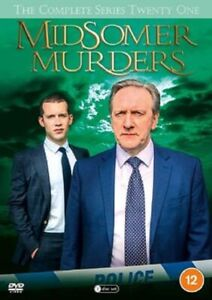 Midsomer Murders Season 21 Series Twenty One  Parts 1 and 2 NEW DVD Region 4