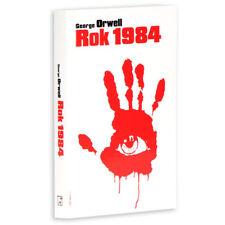 ROK 1984 - George Orwell, polska ksiazka, polish book  wydanie pocket