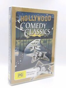 Hollywood Comedy Classics 5 Disc Set - Rare DVD Aus Stock New Region ALL