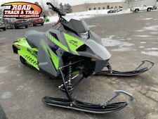 2021 Arctic Cat® Blast Zr 4000 Dynamic Charcoal & Medium Green Gray