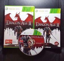 Dragon Age II 2 (Microsoft Xbox 360, 2011) Xbox 360 Game - FREE POST