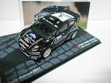 FORD FIESTA RS WRC RALLY FRANCE 2011 LATVALA EAGLEMOSS IXO 1/43