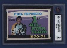 1971-72 OPC Phil Esposito *All-Star* #253 KSA 9 MINT Boston Bruins *SHARP*