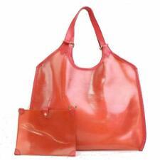 Прозрачный Louis Vuitton полупрозрачные Epi Plage Baia Гренадин красный 870807
