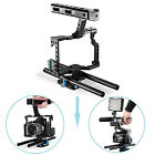 Neewer Film Making Camera Video Cage w/ 15mm Rod System Rig f Sony A7 A7II A7s